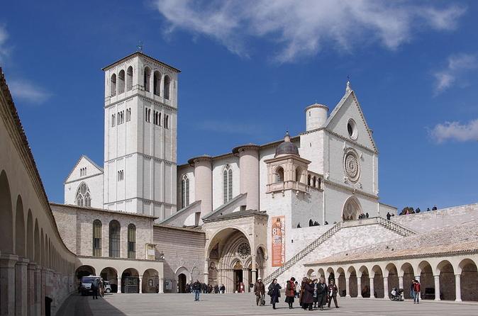 Excursão privada: Viagem de um dia para Assis saindo de Roma