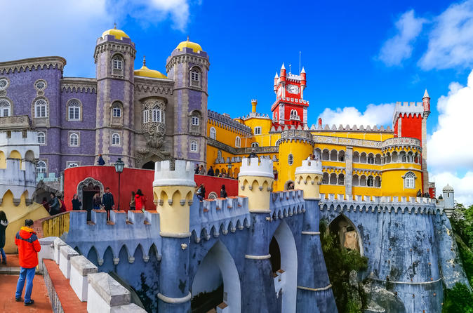 Semi-private Mystical Sintra Day-Trip to Regaleira Estate & Pena Palace