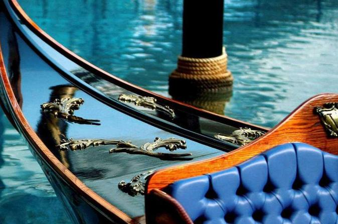 Gondola Ride Ticket At The Venetian Macau