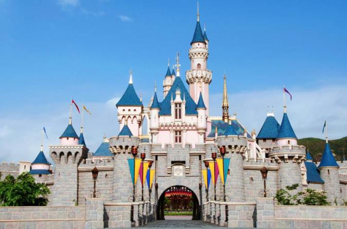 Hong Kong Disneyland Admission E-Ticket""