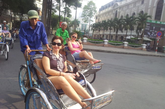 Ho chi minh city shore excursion private city tour including cyclo in ho chi minh city 169329