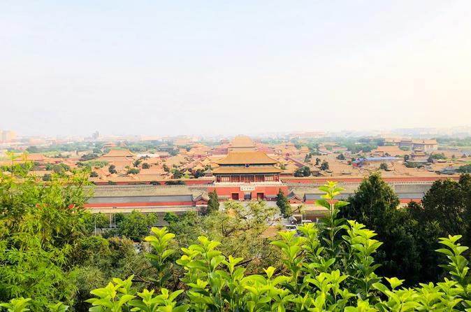 Private Beijing Sunset Tour at Jinshan Park including Hutong and Back Lake