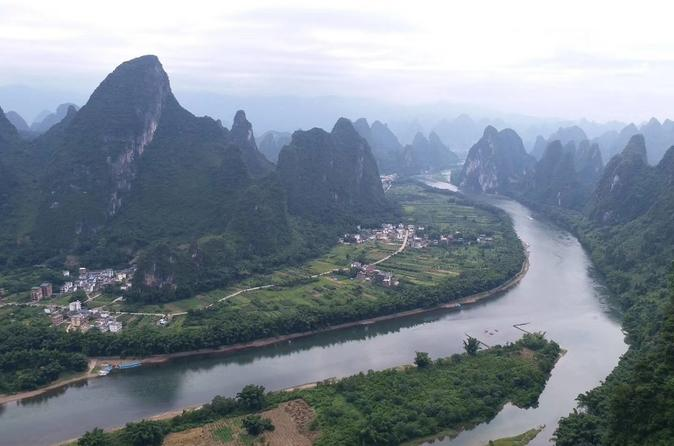 Private Yulong River Bamboo Rafting Tour from Yangshuo