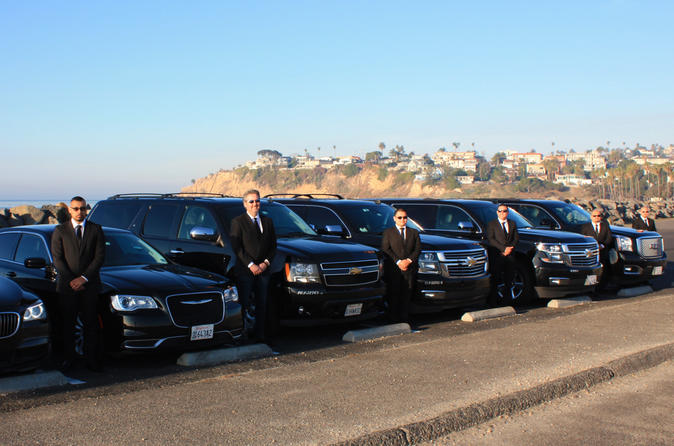 Private One-Way LAX Airport SEDAN Transfer to and from Disneyland