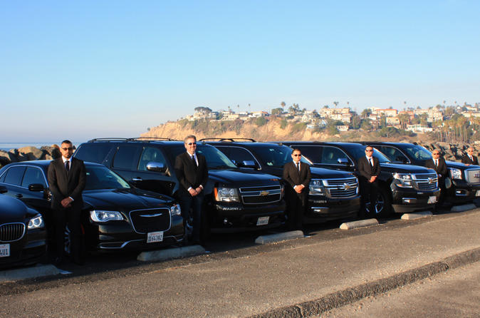Santa Barbara Private One-Way Airport SUV Transfer to and from LAX