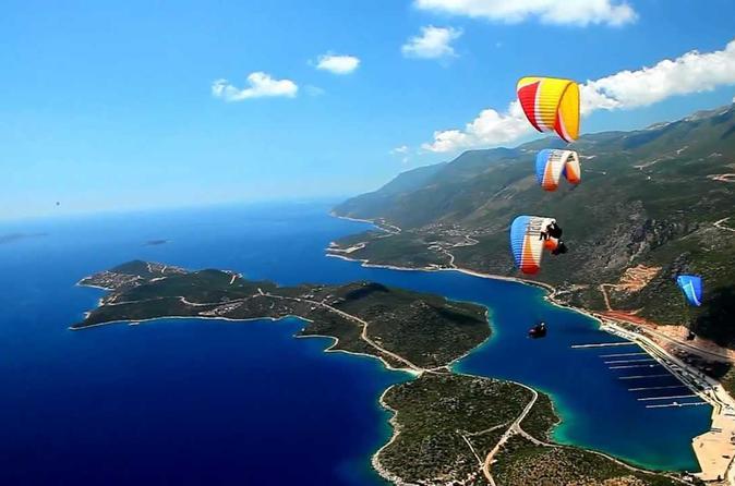 Tandem paragliding in kas in ka 239162