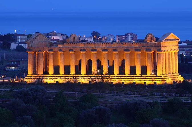 Excursão ao Vale dos Templos de Agrigento e Villa Romana del Casale saindo de Palermo