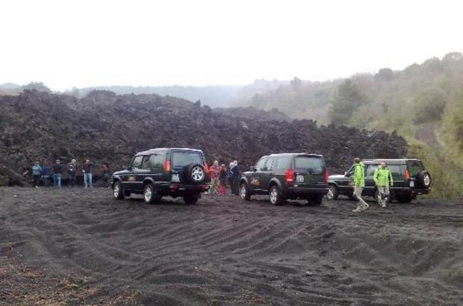 Full-Day Etna Jeep Tour from Taormina Including Lunch in a Local Farmhouse