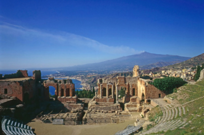 Private Transfer: Palermo to Taormina with Villa Romana del Casale and Agrigento Stops