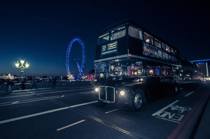 London Ghost Tour by Vintage Bus
