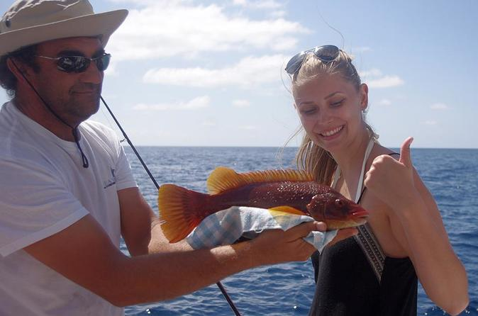 Azores, São Miguel, Coastal Or Bottom Fishing HD Afternoon- Oceantur
