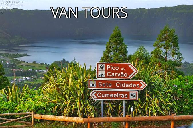 Sete Cidades, São Miguel, Azores, MiniVan Tour HD - Ponta Delgada