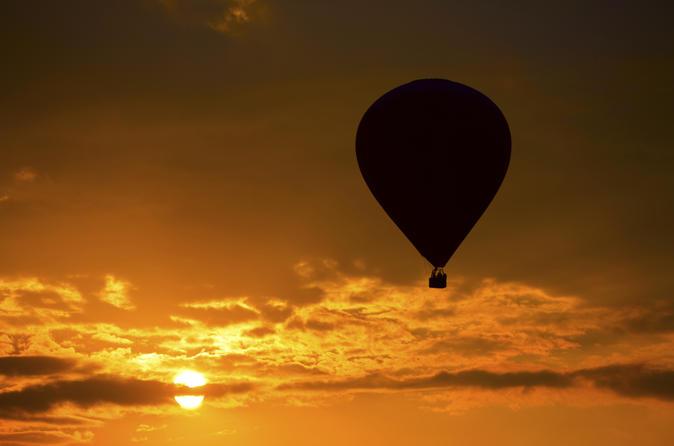 Albuquerque Hot Air Balloon Ride At Sunset