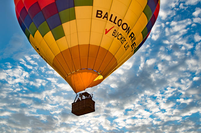 Las Vegas Hot Air Balloon Ride at Sunrise