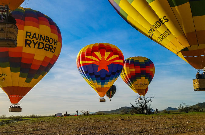 Sunrise hot air balloon ride from phoenix in phoenix 539115
