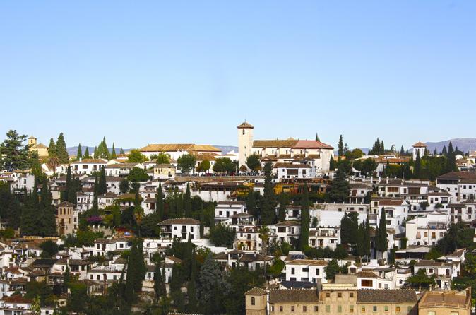 Excursão a pé guiada por Albayzin e Sacromonte em Granada