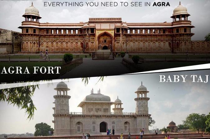 Taj Mahal & Agra Train Tour From Delhi