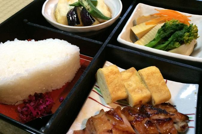 Bento box cooking class in kyoto 167413