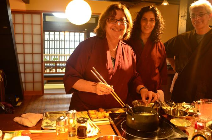 Izakaya style cooking class in kyoto 167411