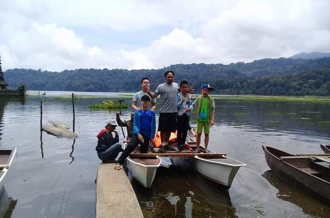 Private Tour Tamblingan Lake Jungle Trekking With Catamaran - Kuta