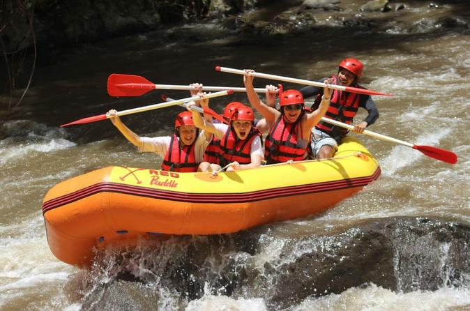 Red Paddle River Rafting At Ayung River With Lunch And Hotel Pick-up Drop Off - Kuta