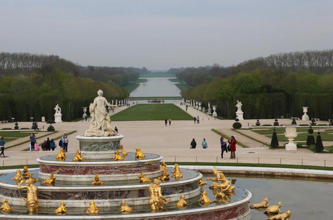 Golden Versailles Palace and Garden Tour