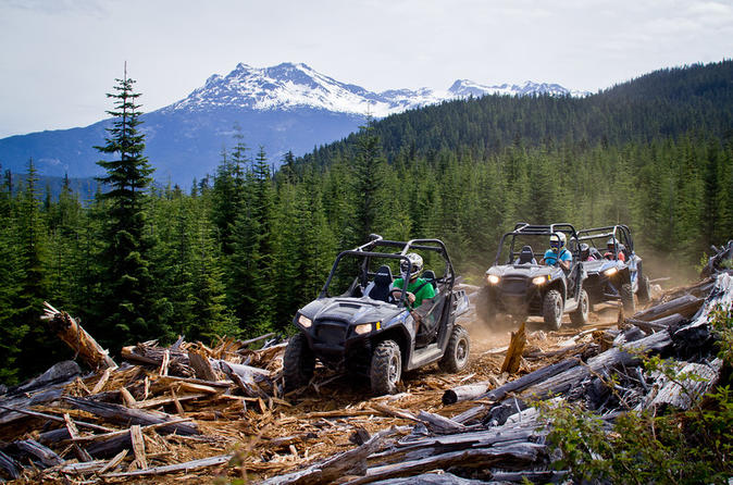 Rzr off roading tours from whistler in whistler 219046