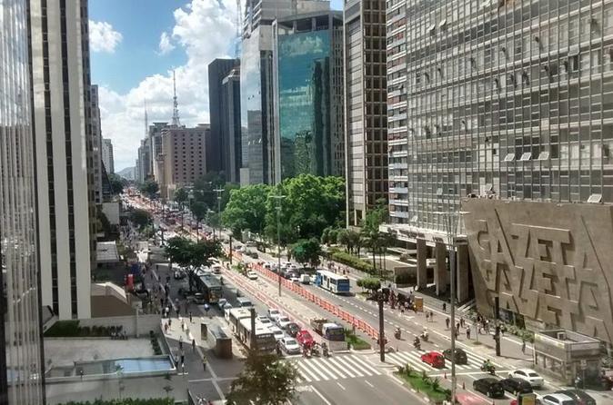 Excursão personalizada e particular pela cidade de São Paulo, Brasil