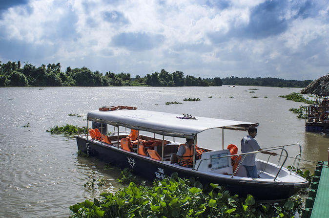 Cu chi tunnels and countryside tour by luxury speedboat in ho chi minh city 427772