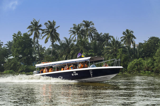 Half day cu chi tunnels from ho chi minh city by luxury speedboat in ho chi minh city 427774