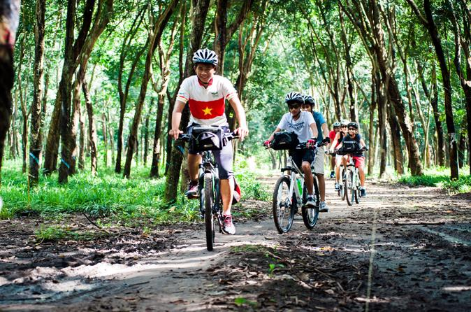 Small group cu chi tunnels boat and bike tour in ho chi minh city 214629