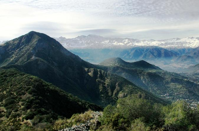 Half Day Hike to Manquehue Hill Incredible panoramic of the Andes and Santiago