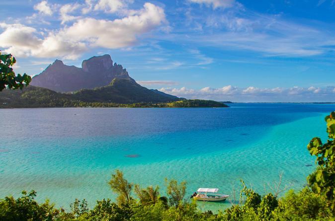 Cruzeiro de lagoas em Bora Bora e excursão em 4x4