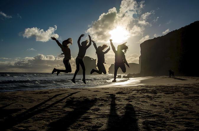 Experiência ao pôr do sol para grupos pequenos na Great Ocean Road saindo de Melbourne
