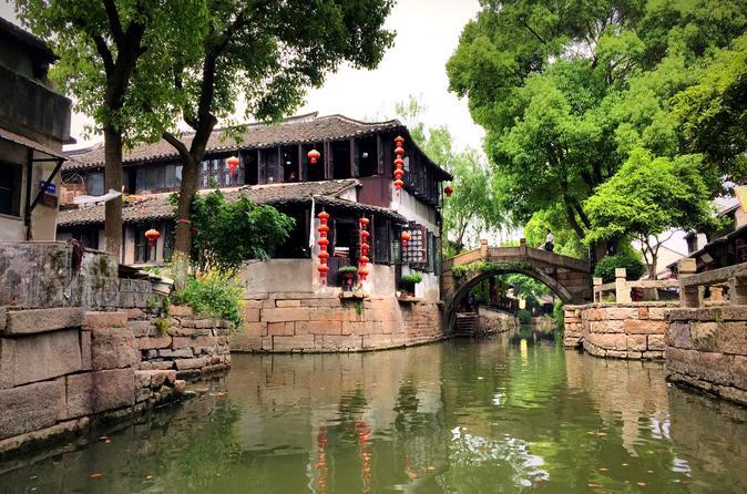 Suzhou & Luzhi Water town 1 Day Tour