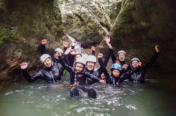 Family Canyoning - Bled