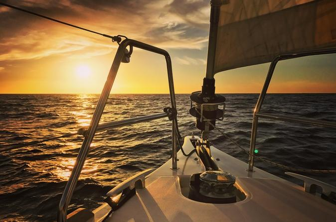 2 Hour Private Sunset Sailing Cruise - Barcelona