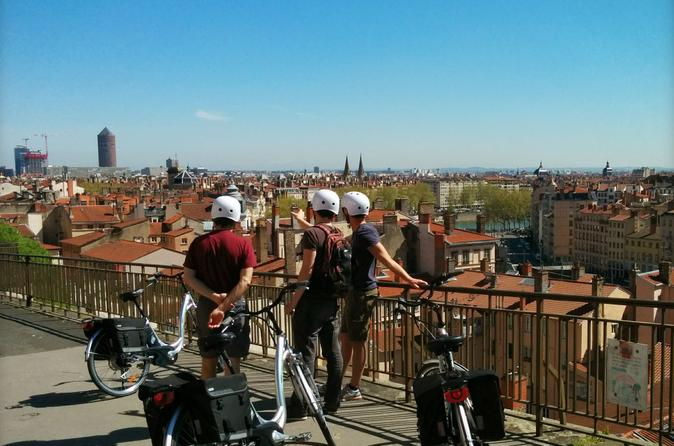 Lyon electric bike tour with food tasting in lyon 170049