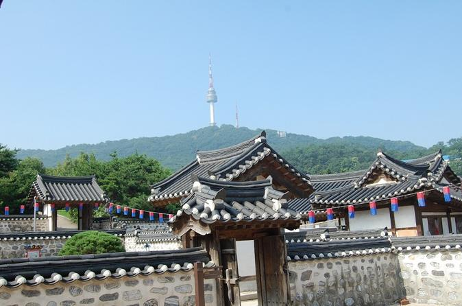 Seoul morning half day tour including seoul tower namsan hanok in seoul 221695