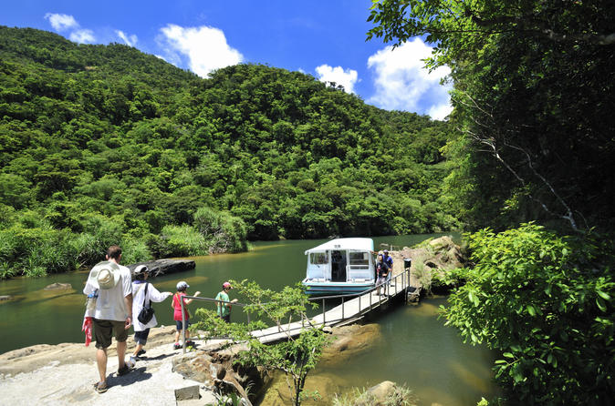 Iriomote Island Tour: Urauchi River Cruise, Maryudo Falls Hike and Kayak Tour