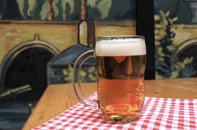 Prague Czech Beer and Bar Evening Tour