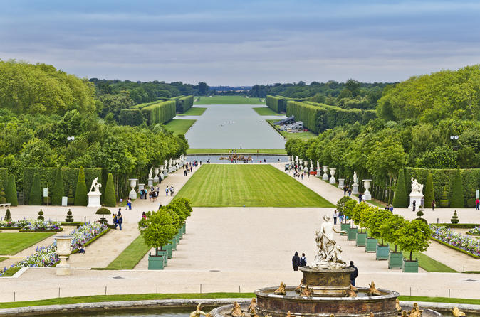 Tour a piedi dei giardini di versailles da parigi