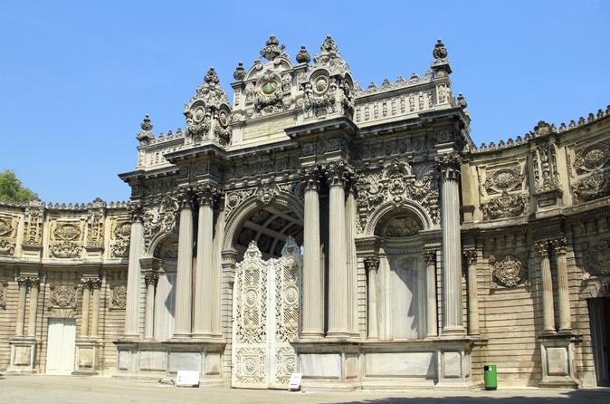 Excursão de Dois Continentes de Istambul, incluindo Palácio Dolmabahçe e Cruzeiro Turístico por Bósforo