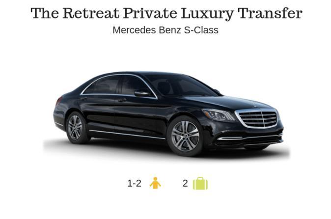 The Retreat Private Luxury Transfer