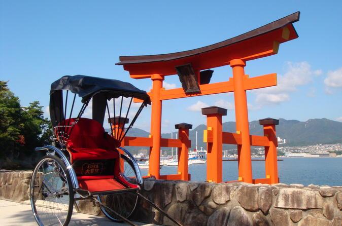 Miyajima rickshaw tour in hiroshima 231871