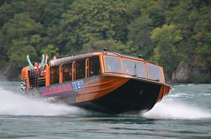 Niagara white water jet boat tour in niagara falls 289615