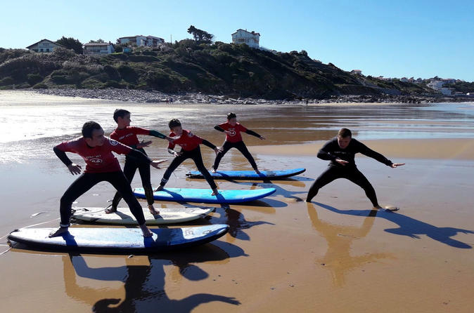 Surf Class With Professional Instructor In Basque Country - Biarritz