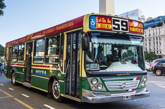 Private City Tour By Public Transport - Buenos Aires