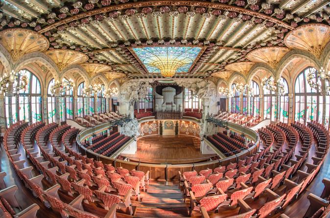 Evite as filas: Barcelona Palau de la Musica Catalana Excursão