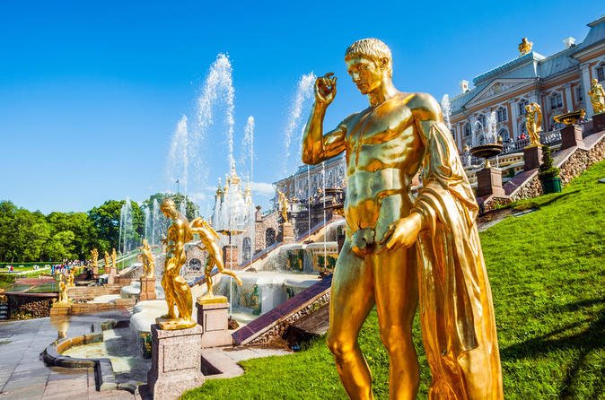 Full Day Guided Tour of Pushkin and Peterhof